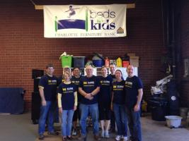 Bed for Kids Volunteer Event - May 3, 2014