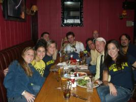 UofM v. OSU Game Watching Event, Hoboken