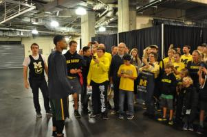 Meet & Greet with Trey Burke - December 21, 2013