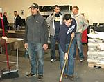 Holiday Volunteer Event at the San Francisco Food Bank