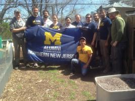 2016 Michigan Alumni Community Service Day