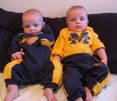 Aidan and River, New Club Fans on the Go