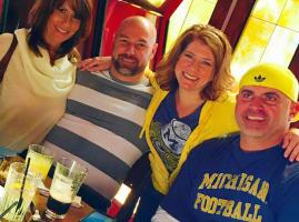 Michigan fans at Bevvy in Scottsdale