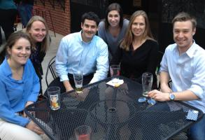 Young Alumni Happy Hour - Connolly's - April 17, 2014